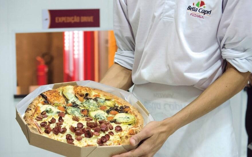 franquia de pizzaria-omnichannel